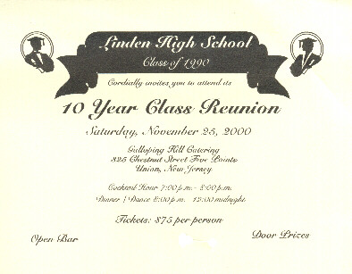 Linden High School Reunion